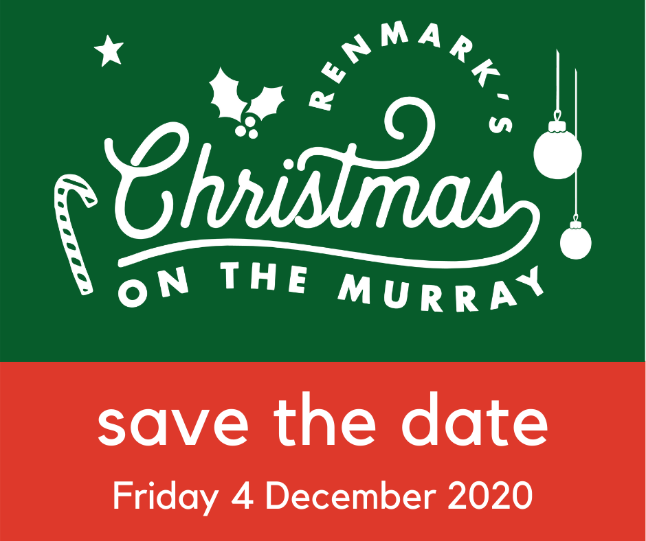 Save the Date Renmark On the Murray 2020
